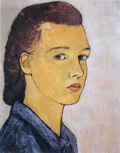 シャルロッテ23歳の自画像